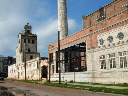 factory, broken down