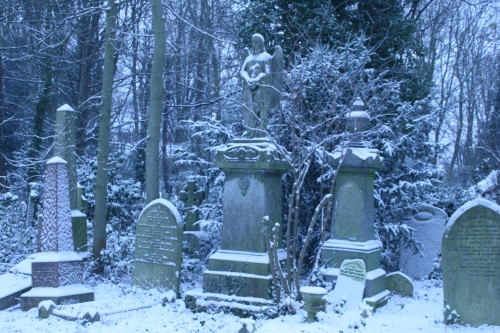 Graves in Snow