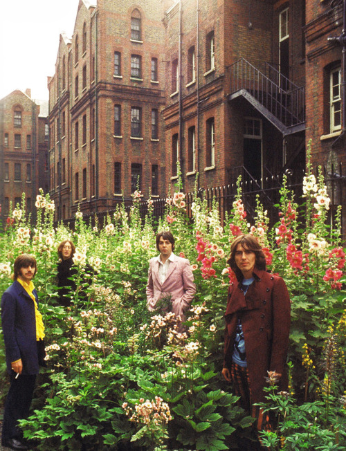 The Beatles at the Old Church Yard