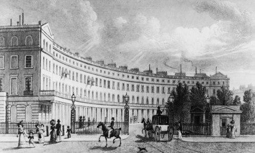 Park Crescent, John Nash